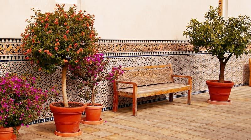 imagenes de bancos de madera para jardín, bancos de madera para jardín de segunda mano